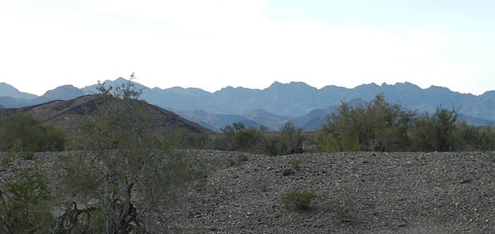 Mule Mountains
